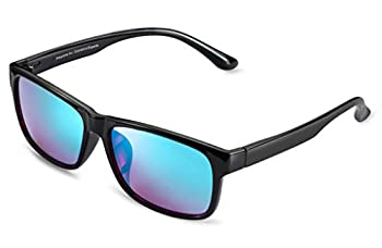 Pilestone Red-Green Color Blind Glasses TP-025 Titanium Coated Purple Lenses Both Outdoor and Indoor Use