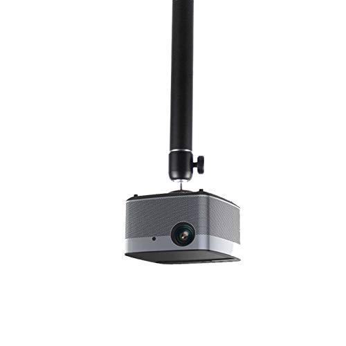 CJshop Projector Stand Universal Projector Hanger Bracket Office Household Hanger Fixed Lifter Hoisting Wall-mounted Projector Bracket, Black Projector Brackets