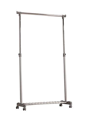 Compactor Loft Portant vêtements gris, 83,5 x 44 x H 160 cm, RAN3410