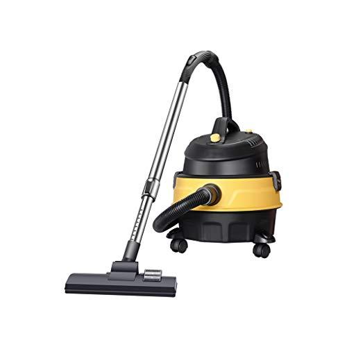Stofzuiger 1200W 15L voor huishoudelijk gebruik Krachtig zuigvermogen groot drogend industrieel voor barilot, geel (39 x 38 x 41 cm) LostGaming