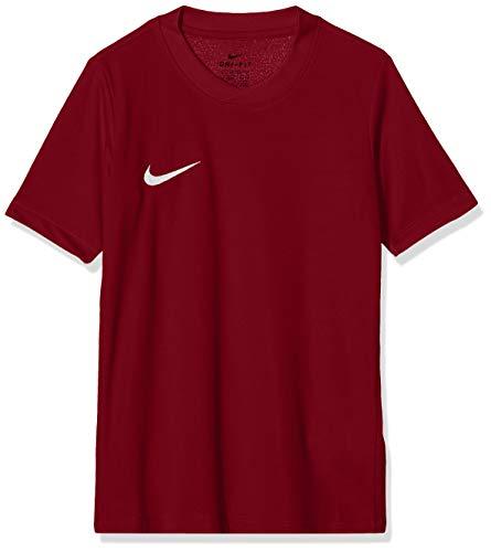 Nike Park Vi Camisa de Deporte, Niños, Rojo (Team Red/Blanco), Small