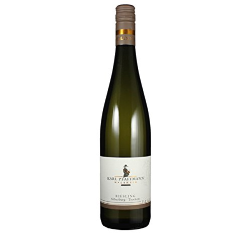 Karl Pfaffmann 2018er Riesling Pfalz Walsheimer Silberberg trocken Dt. Qualitätswein 0,75 Liter