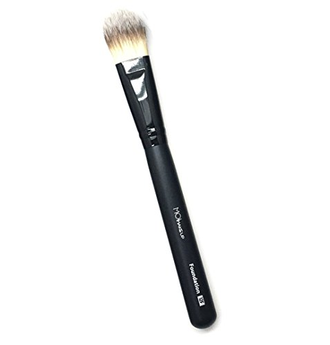 Moi Moises Campo Pinceau de maquillage synthétique Kabuki pointe/fondation 12F – M·O·I Professional Collection 1 pièce 50 g