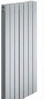 Mithos Elemento radiador Aluminio Blanco 900mm Monza