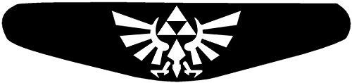 Adhesivo para la barra de luces de la PlayStation PS4 negro negro Zelda (schwarz)