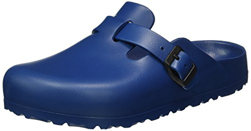 Birkenstock Unisex-Erwachsene Boston EVA Clogs, Blau (Navy), 36 EU