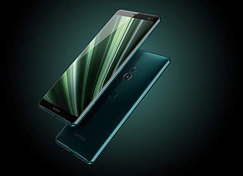 Sony Xperia XZ3 Smartphone (15,2 cm (6 Zoll) OLED Display, Dual-SIM, 64 GB interner Speicher und 4 GB RAM, BRAVIA TV Technologie, IP68, Android 9.0) Forest Green - Deutsche Version