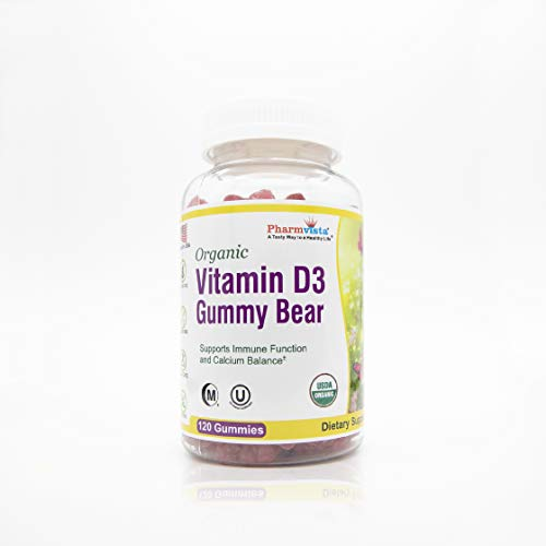 Organic Vitamin D3 Gummy Bears...