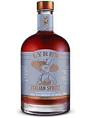 Lyre's Italian Spritz Non-Alcoholic Spirit - Aperol Style | Award Winning | 700ml X 1 | Enjoy The World's Most Awarded Non-Alcoholic Spirits Brand Today