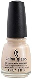 China Glaze Nail Lacquer With Hardeners - 14 Ml, Don'T Honk Your Thorn - Beige