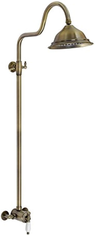 ENKI Duschset Thermostatisch Sequenziell Bronze Klassisch Glocke 200 WINCHESTER