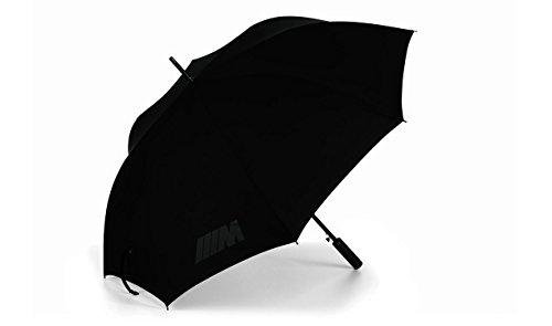 Originele BMW M wandelstok en paraplu - koolstofhandvat, zwart. Artikelnummer: 80232410916