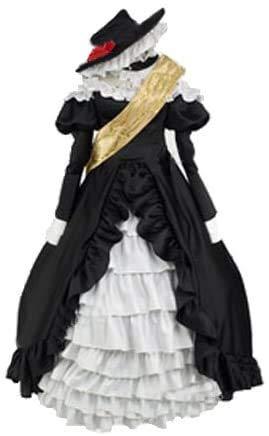 永恒乐园_cos 【コスタイム】うみねこのなく頃に 鯖の魔女 ワルギリア風の衣装 (オーダーメイド)