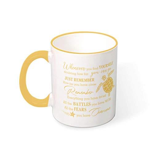 IOVEQG Fears - Taza de café de cerámica de gran tamaño con asa para parejas, 330 ml