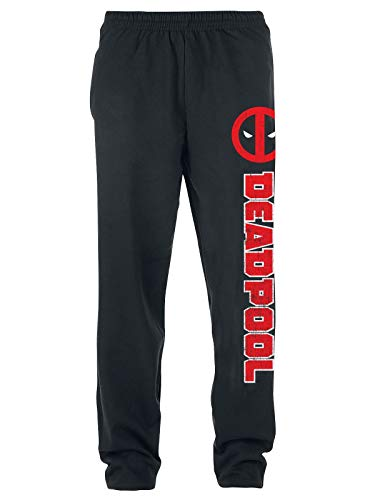 Deadpool Symbol Männer Trainingshose schwarz XL