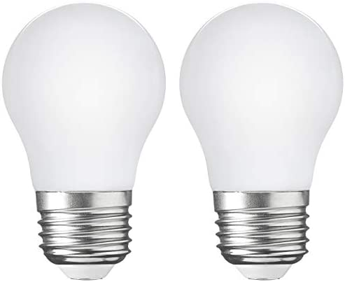 2 Pack LED Appliance Light Bulb 5W 40 Watt Equivalent Flicker Free 500 Lumens Daylight White product image