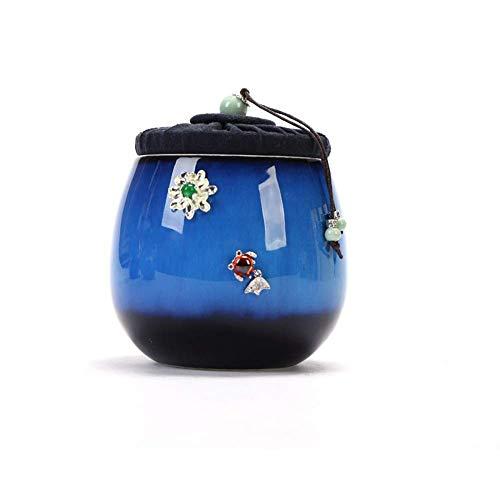 Alqn Cremación Entierro primitivo Ceniza Entierro de ceniza Cerámica primigenia Recuerdo de cerámica hecho a mano primigenio,# 3