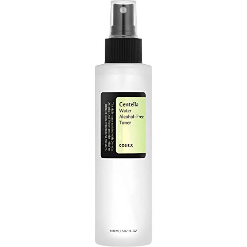 COSRX Centella Water Alcohol-Free Toner, 150ml / 5.07 fl.oz   Centella Asiatica for Soothing   Korean Skin Care, Vegan, Cruelty Free, Paraben Free