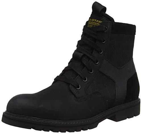 G-STAR RAW Herren Powell Y Klassische Stiefel, Mehrfarbig (Dk Black/Black 9249-A112), 44 EU