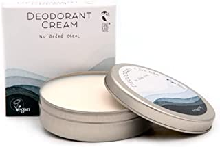 Owl & Bee - Crema desodorante en frasco (lata) - Sin fragancia añadida - Sin perfume - Sin alcohol - Sin aluminio - Certif...