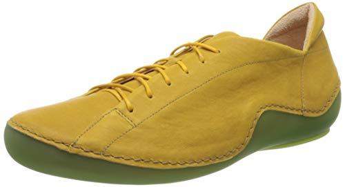 Think! Damen 686062_KAPSL Sneaker, Gelb (Safran/Kombi 67), 40 EU