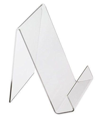 Source One 8-1/2 x 11 Inches Premium Clear Acrylic Easel Book Stand/Artwork Stand Holder (S1-85x11-Easel)