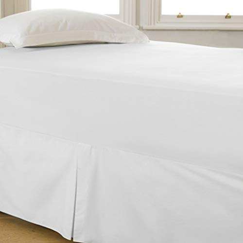 Plain Fitted Bed Sheet 68 Pick 140 TC Poly Cotton Single Double King Super King