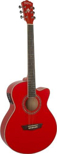 Washburn EA12R Electro guitarra acústica - Rojo