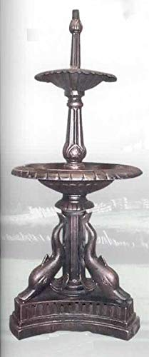 Fuente de Hierro Forjado Mod. Fuente 61. Medidas 61x61x141, Peso 95 Kg. la Fuente, con el Vaso Opcional 180Kg. Colores Disponibles Arena (Foto 2) Gris Plomo y Verde-Gris.