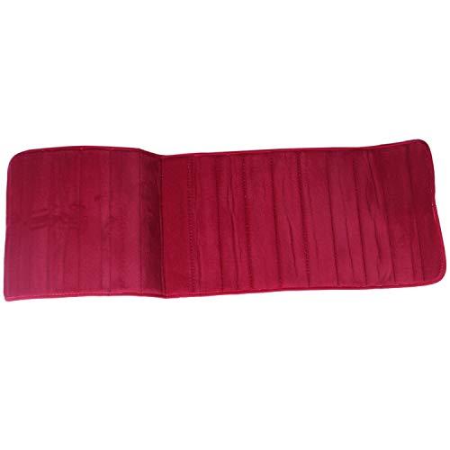 Adanse - Alfombra antideslizante de espuma viscoelástica (120 x 40 cm), color rojo