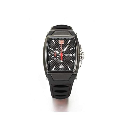 Orologio Locman DUCATI d550k09s-bkcbrdsk Al quarzo (batteria) Acciaio...