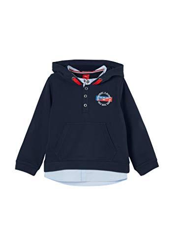 s.Oliver Junior Jungen 404.10.011.14.140.2054465 Sweatshirt, 5952, 128/134.REG