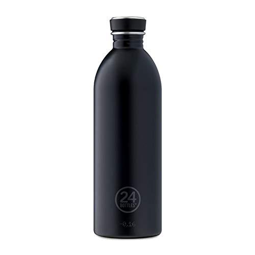 24BOTTLES Urban, Borraccia Unisex – Adulto, Nero, 500 ml