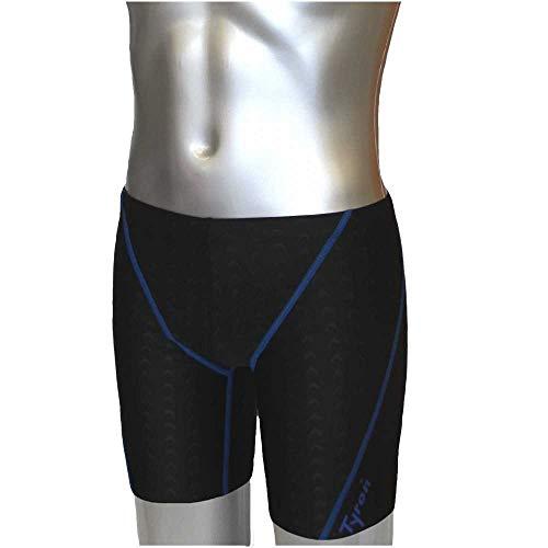 Tyron Speed Line Jammer (blau - XXL)     Badehose für Herren & Jungen   Schwimm Training und Wettkampf   Jammer   Tight   knielange Schwimmhose