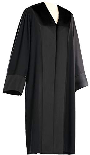 MANUFAKTUR BAVARIA Rechtsanwaltsrobe, MERINO KASCHMIR SEIDE, Konfektion, Herren, Größe 28 (untersetzt)