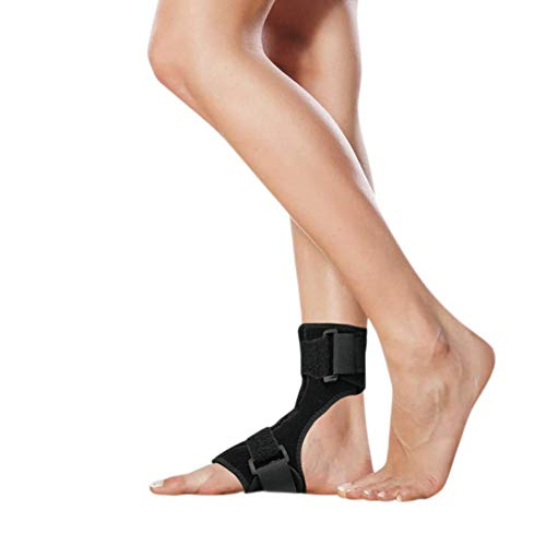Foot Orthosis Corrective Foot Drop Adjustable Foot Drop Orthotic Brace Splint Supports Foot brace,Drop foot brace,Ankle foot orthosis for foot drop Onkessy