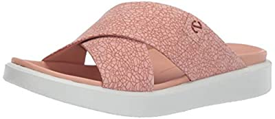 ECCO Women's Flowt LX Slide Sandal, Muted Clay ROSATO, 42 M EU (11-11.5 US)