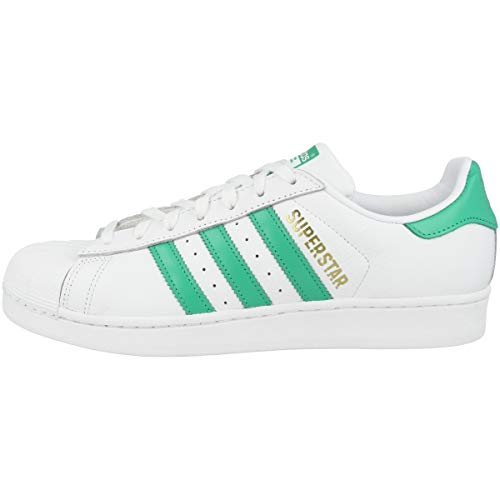 adidas Men's Superstar Fitness Shoes, White (Blanco 000), 8.5 UK