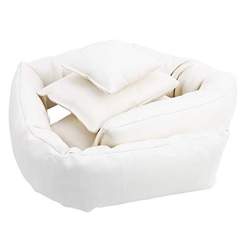 Almohada de fotografía para bebés, 4 almohadas, accesorios de fotografía cómodos, para diferentes ocasiones 0-3 meses bebé
