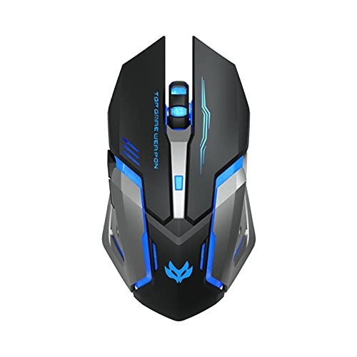 Pink black ergonomic2.4Grechargeable mouse forPCcomputer mute backlitUSBoptical wireless gaming mouse black