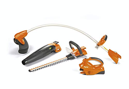 Flymo C-Link 20 V 3-in-1 Combi Pack with Grass/Hedge Trimmer/Blower, Orange
