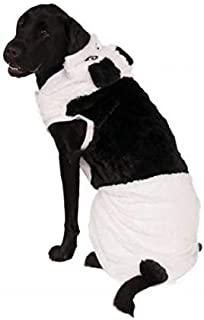 Big Dog Panda Costume with Bag of Treats
