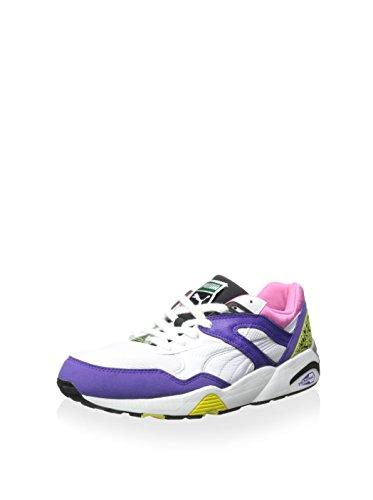 PUMA Men's Trinomic R698 Sneaker, Prism Violet/Fluo Pi, 10.5 M US