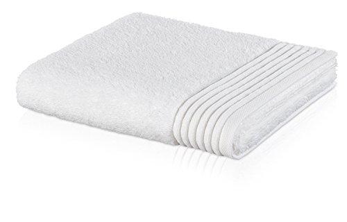 möve Loft serviette de toilette 30 x 50 cm en 100% coton (Spinair), snow