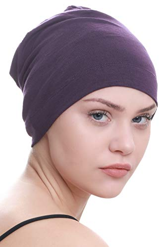 Deresina Gorros para Dormir Oncológicos y para Quimioterapia (Mulberry)