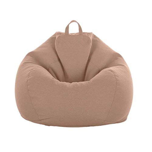 Juner Sitzsäcke Bean Bag Chair Cover 2020 Series Bean Bag Chair Bedroom Adult Comfy Sofa (There Are Four Size Options) 8808803(Size:100CM)