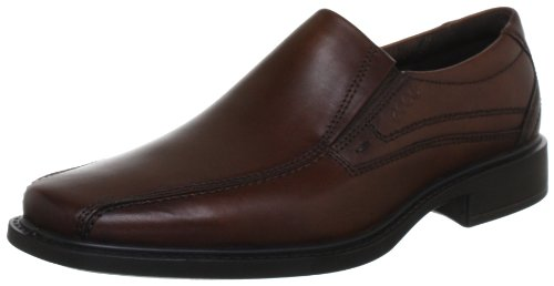 ECCO Men's New Jersey Slip On Loafer, Mink, 45 M EU