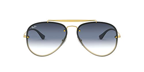 Ray-Ban 0RB3584N Gafas de Sol, Demi Gloss Gold, 58 Unisex