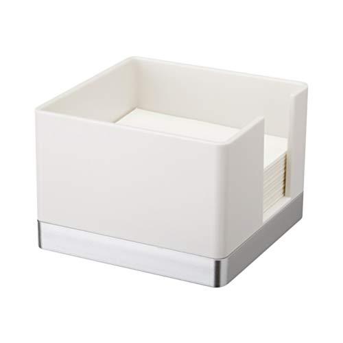 OUNONA 付箋ケース 付箋ボックス 付箋紙収納 小物収納ケース 小物入れ 白