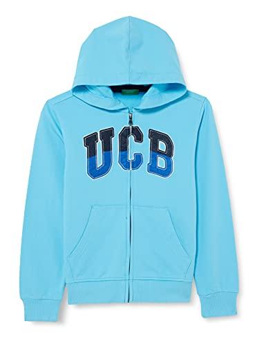 United Colors of Benetton Giacca C/CAPP M/L 3BC1C5797 Suter crdigan, Aquarius 28f, 2 Años para Bebés